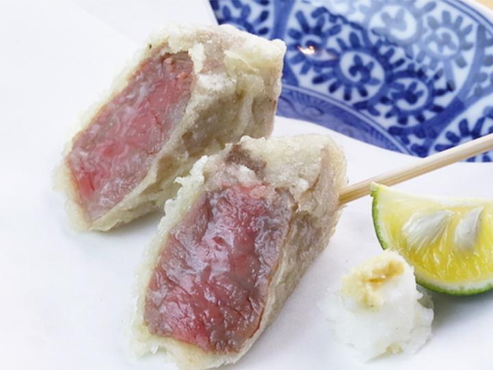 種類豊富な串天ぷら