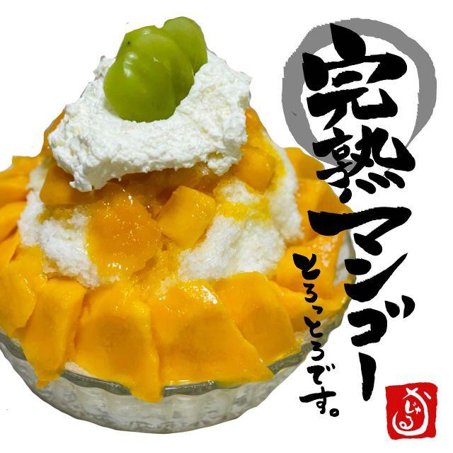 🍧かじゅ氷🍧  とろける完熟‼︎夏の王様‼︎‼︎ 【完熟マンゴー】  いやぁ〜もう、 夏といったらこの果実✨  マンゴー‼️‼️‼️‼️  これまで果じゅるフルーツサンドでも様々な種類のマンゴーをご用意して参りました🎶  マンゴーの季節もあっという間に 終わりを迎えちゃう😭💦  だからこそ‼︎‼︎‼︎ 完熟のとろける最高に甘いマンゴーが手に入る今こそ‼︎‼︎‼︎  贅沢にごろごろたっぷりと かき氷にのせちゃいました‼️‼️  クセもほとんどなく、 酸味もない‼️‼️ 香りは華やか✨ 果肉は国産マンゴーと同レベルのとろとろ感‼︎‼︎‼︎‼︎‼︎  マンゴー好きな方、 多分、このかき氷で今年のマンゴー欲は満たされます‼︎‼︎‼︎‼︎  最高級プレミアム✨ 完熟マンゴーかき氷をぜひお楽しみくださいませ🥺  いや、本当にとろっとろなの⭐️  数量限定ですのでぜひ ご注文はお早めに🥰✨  #フルーツサンド #フルーツサンド専門店 #おすすめ商品 #いちご #スイーツ#茨城スイーツ#カフェ好きな人と繋がりたい #くだもの #茨城グルメ #お洒落さんと繋がりたい #インスタ映え#Instagram#fllowme #f4f #instafood #good #果じゅる #かじゅる#kajulu #カフェ巡り好きな人と繋がりたい#デザート好きな人と繋がりたい #つくばカフェ #かき氷#水戸駅 #水戸グルメ#水戸カフェ#sweets#可愛い#kawaii